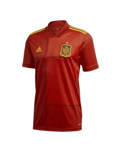Kids Spain Home Football Shirt Front View