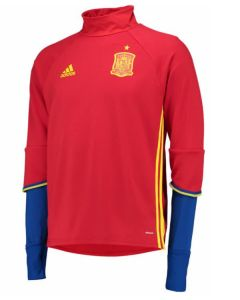 Spain Adidas Training Top 2016-17 (Red)