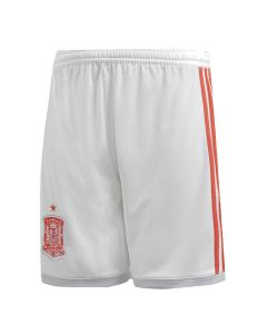 Spain Adidas Kids Away Football Shorts 2018/19