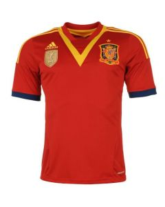 Spain Boys Home Football Shirt 2013