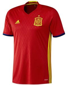 Spain Kids Euro Home Shirt 2016/17