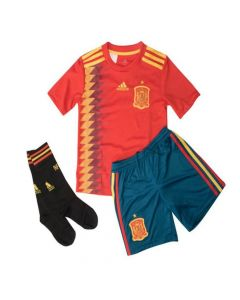 Spain Kids Home Football Kit 2017/19