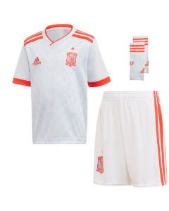 Spain Adidas Youth Away Kit 2018/19
