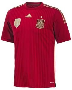 Spain Boys 2014 FIFA World Cup Home Football Shirt