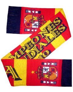 Spain Football Winners Scarf