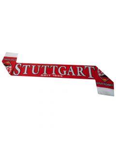 VFB Stuttgart Jacquard Football Scarf