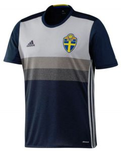 Sweden Kids Euro Away Shirt 2016/17