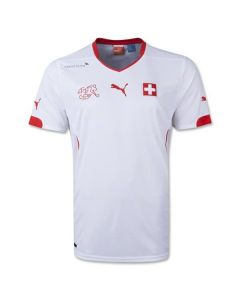 Switzerland 2014 FIFA World Cup Away Jersey