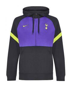 Tottenham Hotspur Kids Black Travel Hoodie 2021/22