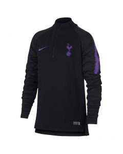 Tottenham Hotspur Nike Squad Black Drill Top 2018/19 (Kids)