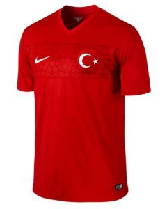 Turkey Home Jersey 2014 - 2015