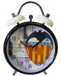 Valencia Black Bell Alarm Clock