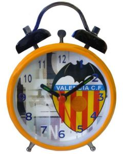 Valencia Orange Bell Alarm Clock