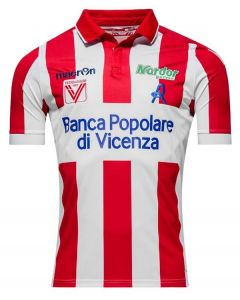 Vicenza Calcio Home Football Shirt 2016-17