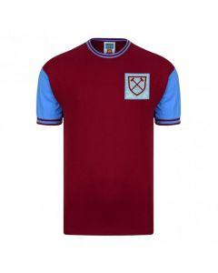 West Ham United 1966 No6 Retro Home Shirt