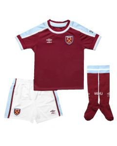 West Ham United Kids Home Kit 2021/22