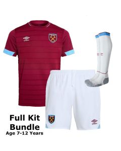 West Ham United Kids Home Kit Bundle 2018/19