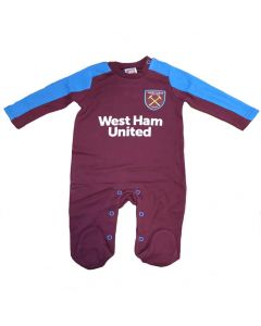 West Ham United Baby Sleepsuit 2017/18