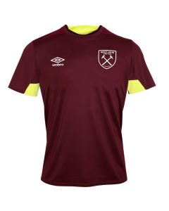 West Ham United Umbro Claret Training Jersey 2018/19 (Adults)