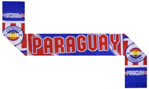 Paraguay Football Scarf
