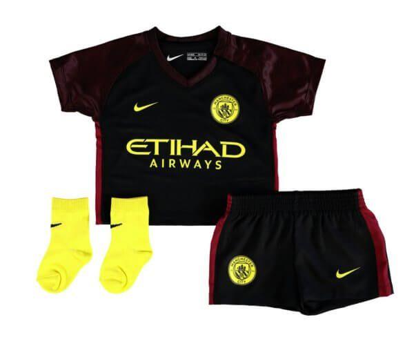Manchester City Infant Away Football Kit 2016/17