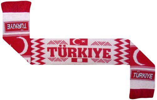 Turkey Football Scarf