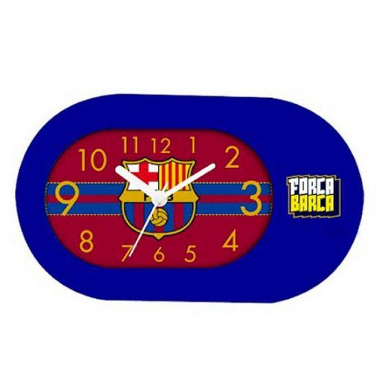 Barcelona Blue Table Clock