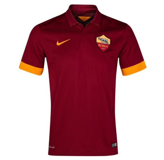 AS Roma Kids (Boys Youth) Home Jersey 2014 - 2015