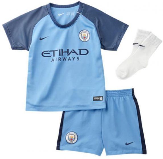 Manchester City Infant Home Kit 2016-17