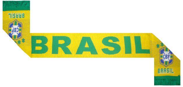 Brazil Football Scarf