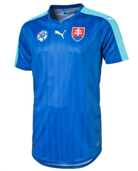 Slovakia Euro Away Football Shirt 2016-17