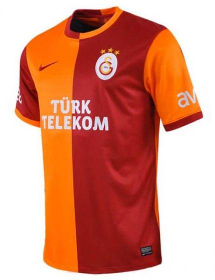 Galatasaray Kids (Boys Youth) Home Football Shirt 2013 - 2014