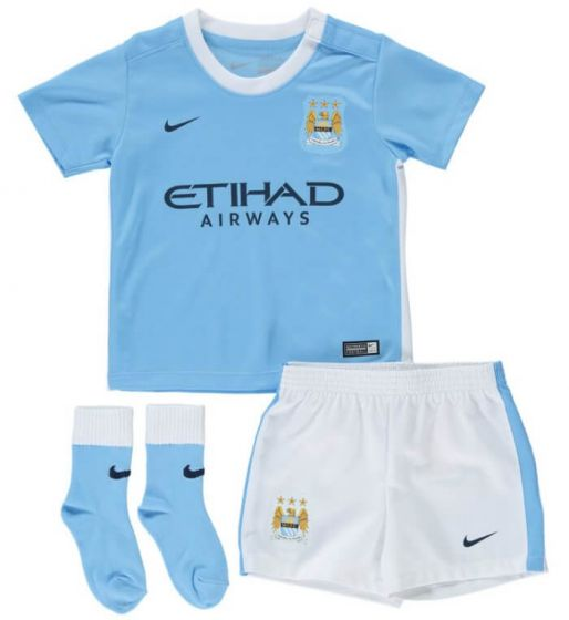 Manchester City Baby Kit 15/16