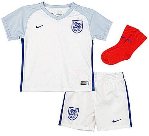 England Baby Euro Home Kit 2016/17