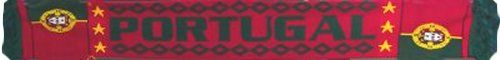 Portugal Jacquard Football Scarf