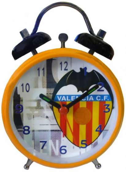 Valencia Orange Bell Alarm Clock