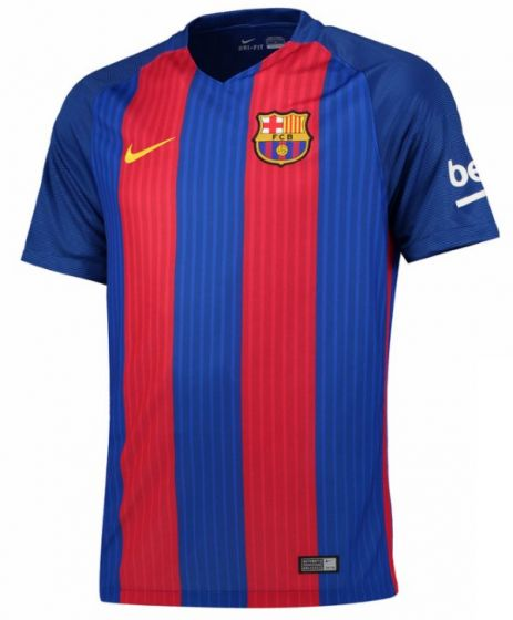 Barcelona Kids Home Football Shirt 2016-17