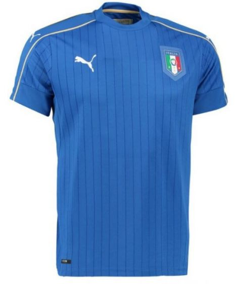 Italy Kids Home Football Shirt 2016-17