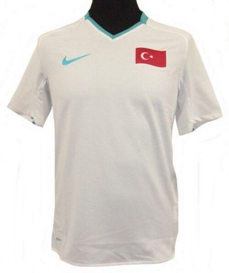 2008-10 Turkey Boys Away Football Shirt