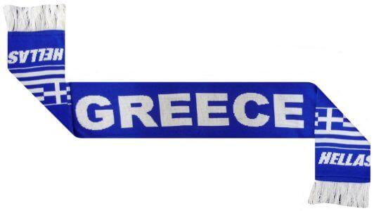 Greece Football Scarf
