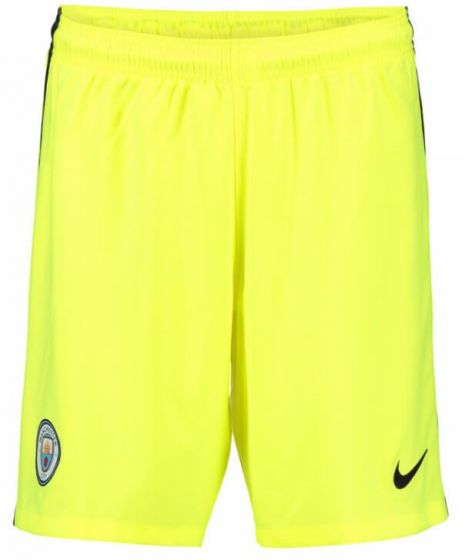 Manchester City Kids Goalkeeper Shorts 2016-17