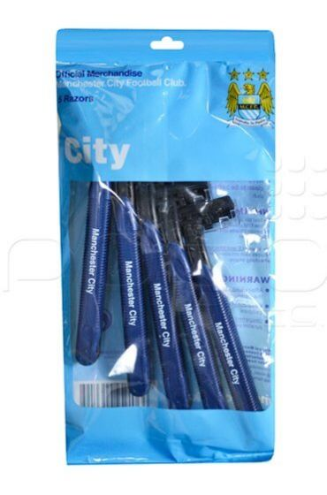 Manchester City Deluxe Disposable Razors