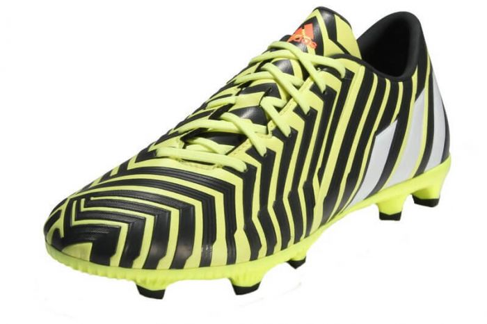 Adidas Predator Absolado Instinct FG Football Boots (Yellow/Grey)