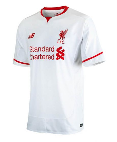 Liverpool Kids Away Jersey 2015 - 2016