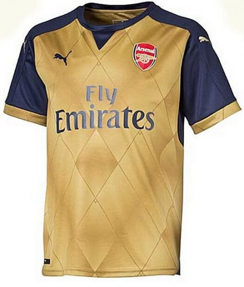 Arsenal Kids Away Jersey 2015 - 2016