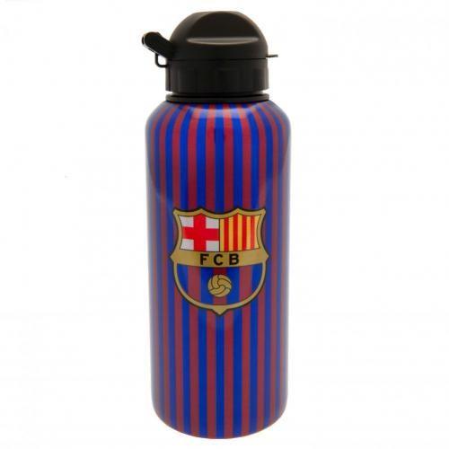 Barcelona Crest Aluminium Drinks Bottle
