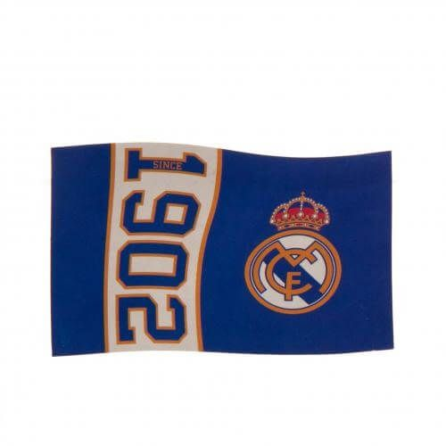 Real Madrid Since 1902 Flag