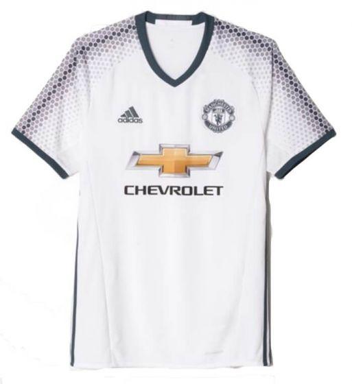 Manchester United Kids Third Football Shirt 2016/17