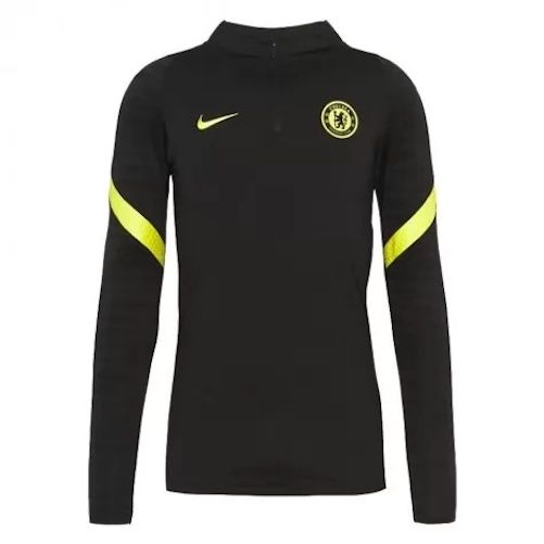 Chelsea Black Strike Drill Top 2021/22