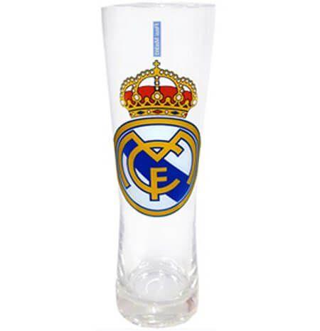 Real Madrid Peroni Glass